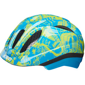 KED Meggy Trend Bike Helmet Children yellow/blue